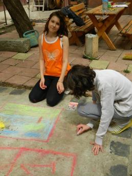 Artiştii casei