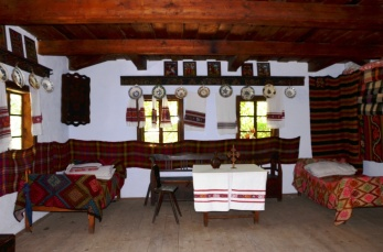 Interior la Muzeul satului